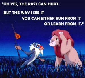 You can run or learn